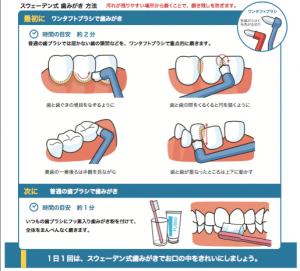 スウェーデン式歯磨き | 矢野口あんどう歯科ブログ | 矢野口あんどう ...